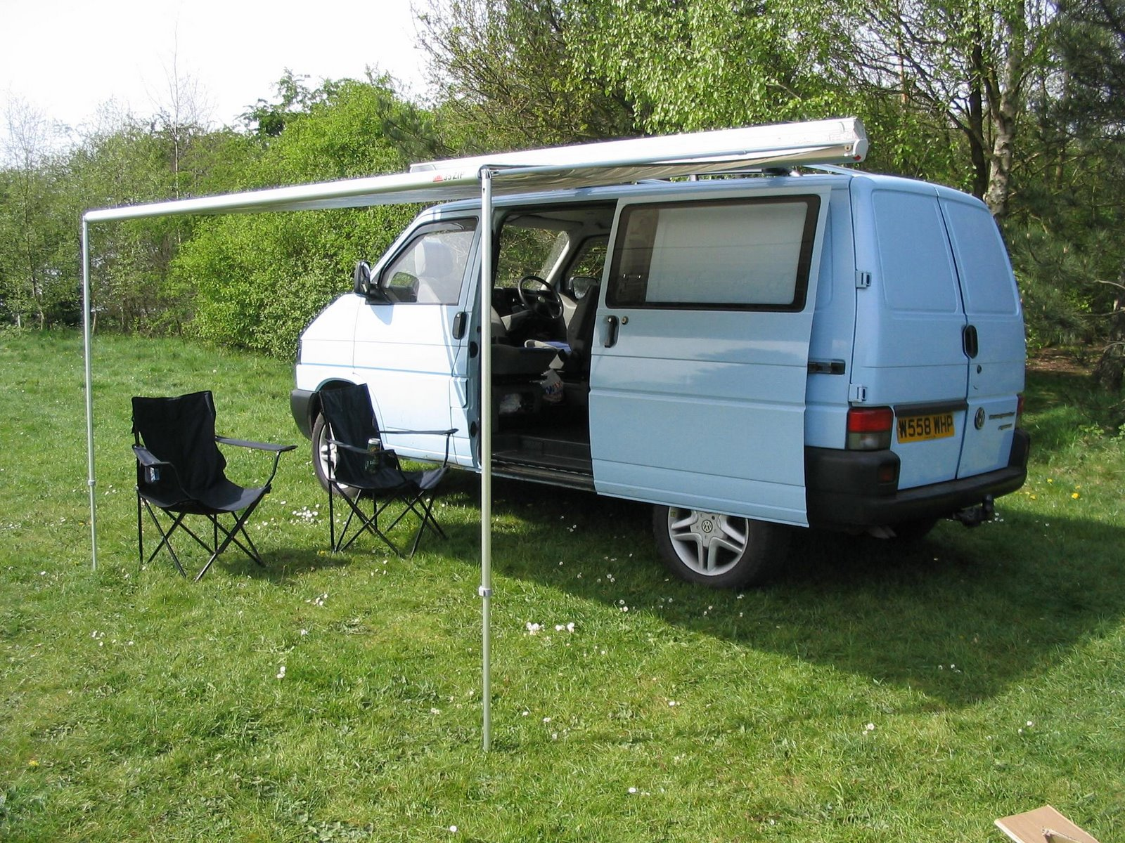 Vw Transporter T4 Syncro Camper Conversion  Fiamma Awning