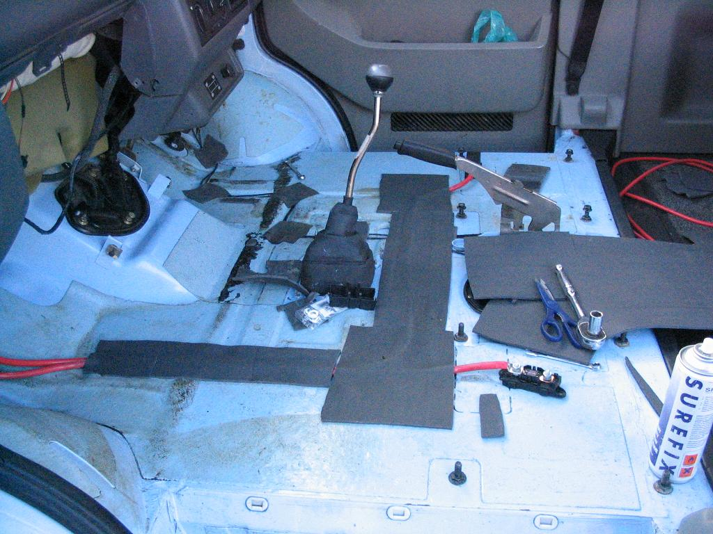 Vw Transporter T4 Syncro Camper Conversion  Cab Floor